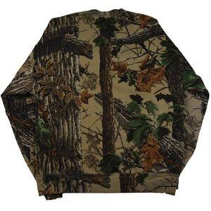 American Vintage Sweaters - Vintage Realtree Camo Crewneck by Jerseez Sz Lg